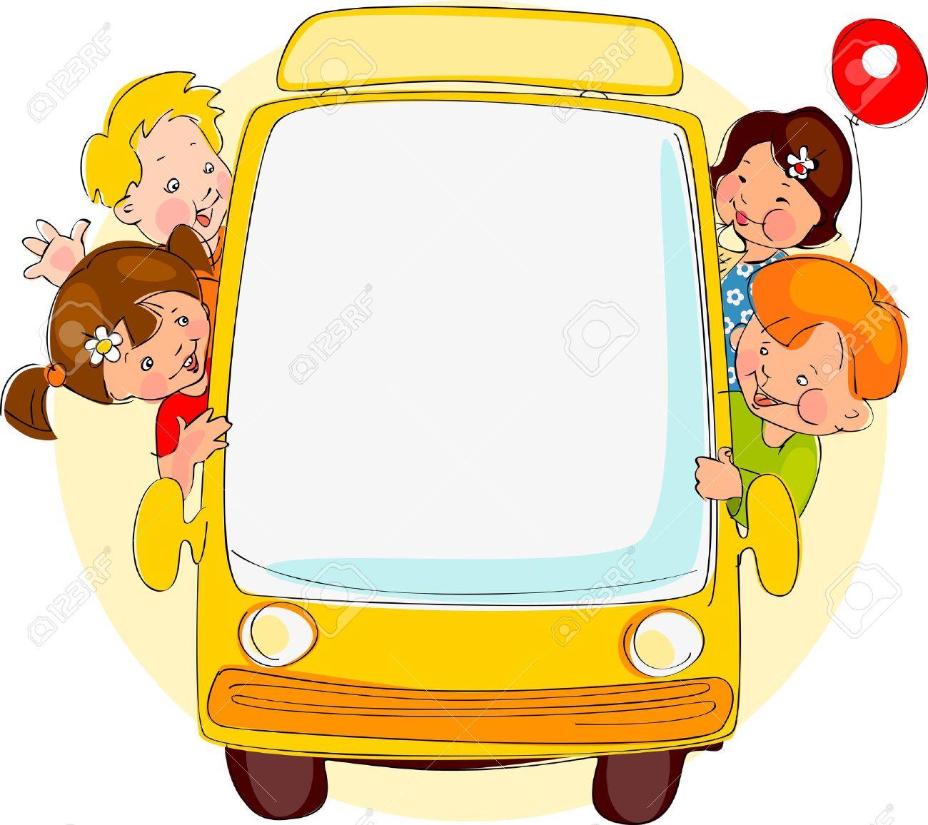 1300x1156 Bus Clipart Place