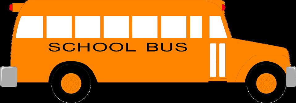 958x336 School Bus Free Stock Photo Illustration Of A School Bus