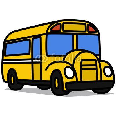 400x400 Drawn Cartoon Bus