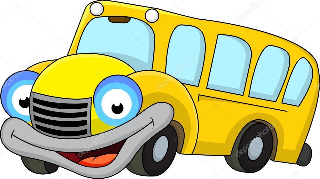 1022x573 School Bus Cartoon Stock Vector Idesign2000