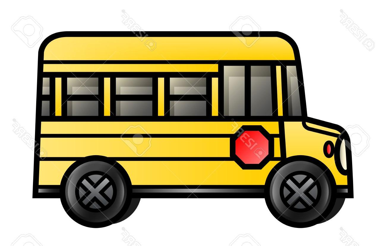 1300x829 Top Illustration Of Cartoon School Bus Stock Vector File Free