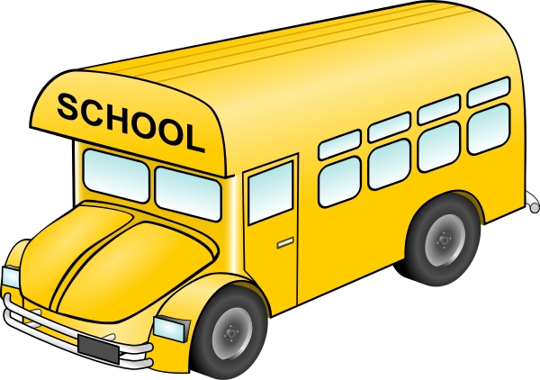 600x422 Free clip art school bus clipart images 5