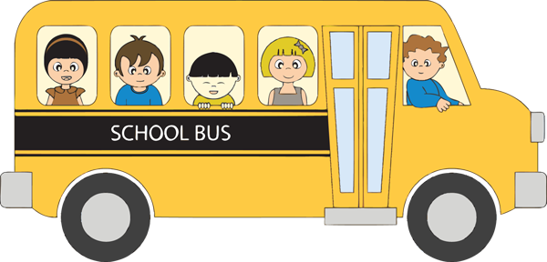 600x288 School bus clip art for kids free clipart images 4