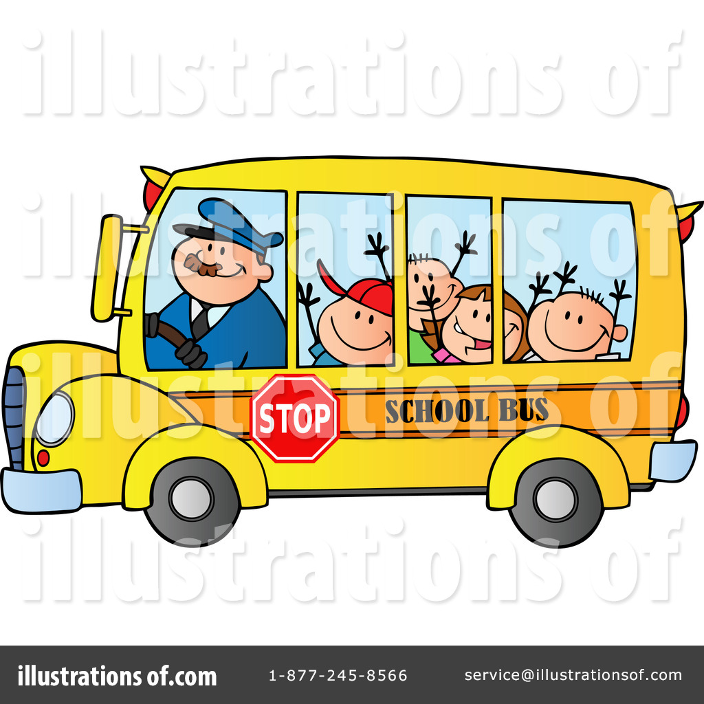 1024x1024 school bus clip art