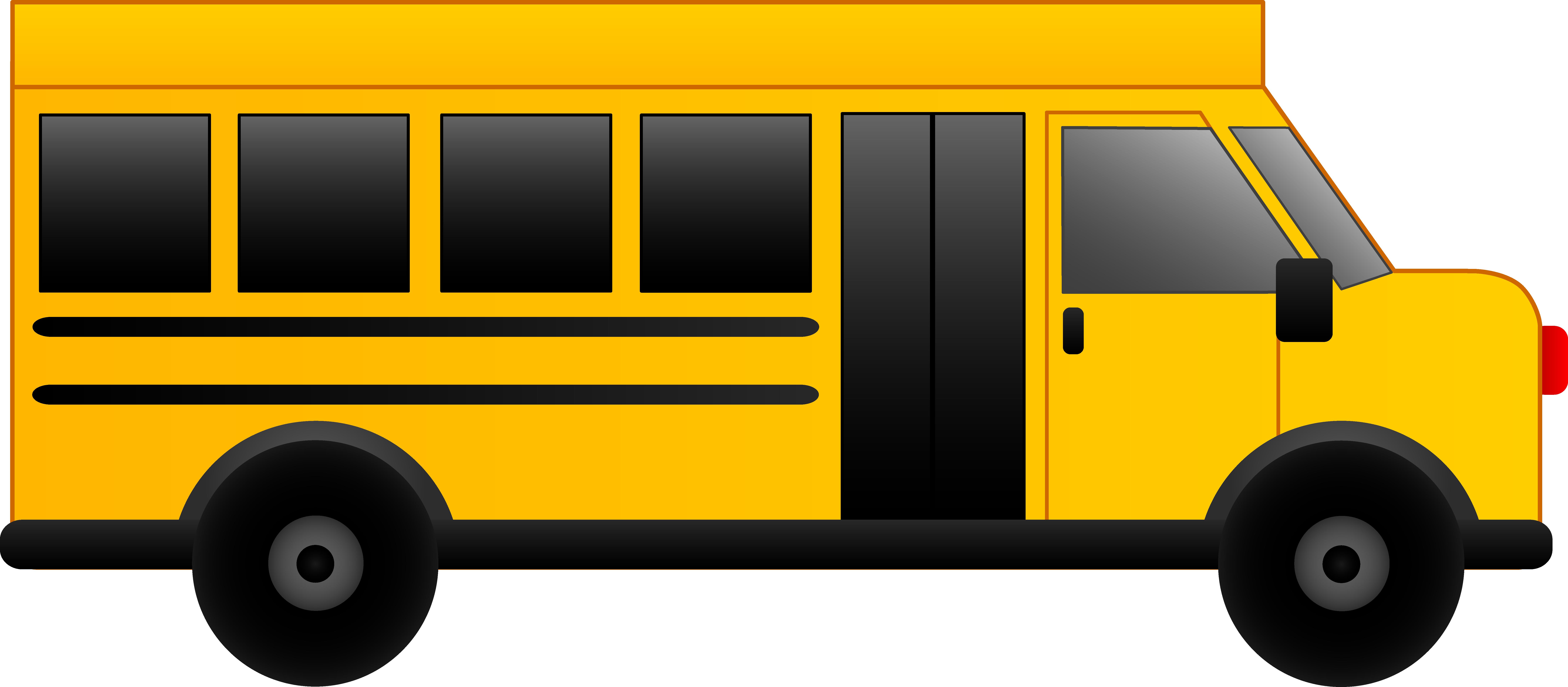 8820x3863 School Bus Clip Art Clipart Panda