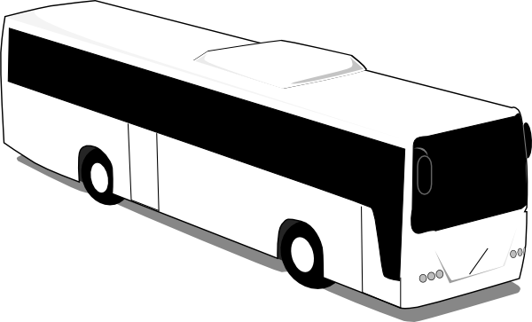 600x363 Image Of School Bus Clipart Black And White