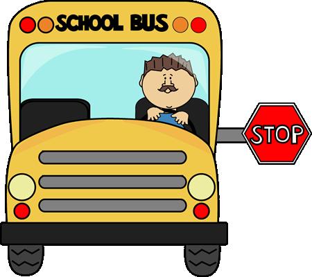 450x400 School Bus Clip Art