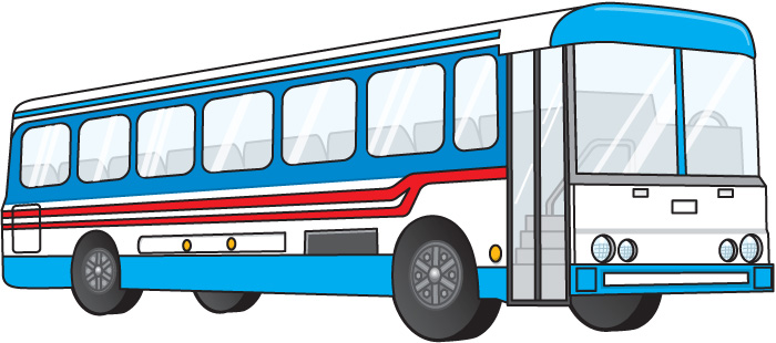 700x310 Bus Clipart Black And White Free Images