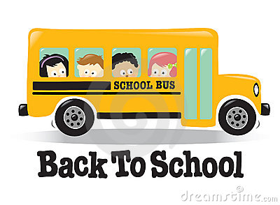 School Bus Clipart For Kids