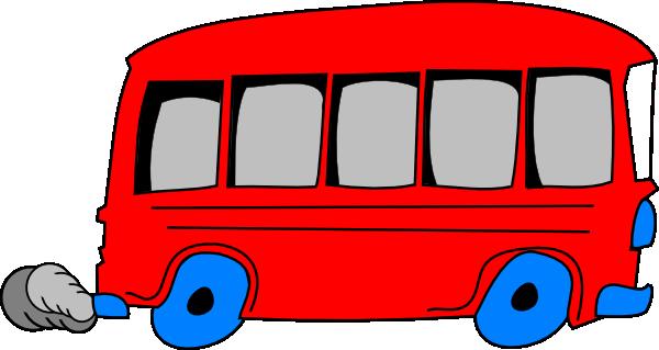 600x319 Red School Bus Clip Art