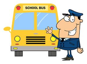 300x221 School Bus Cartoon Clipart Image