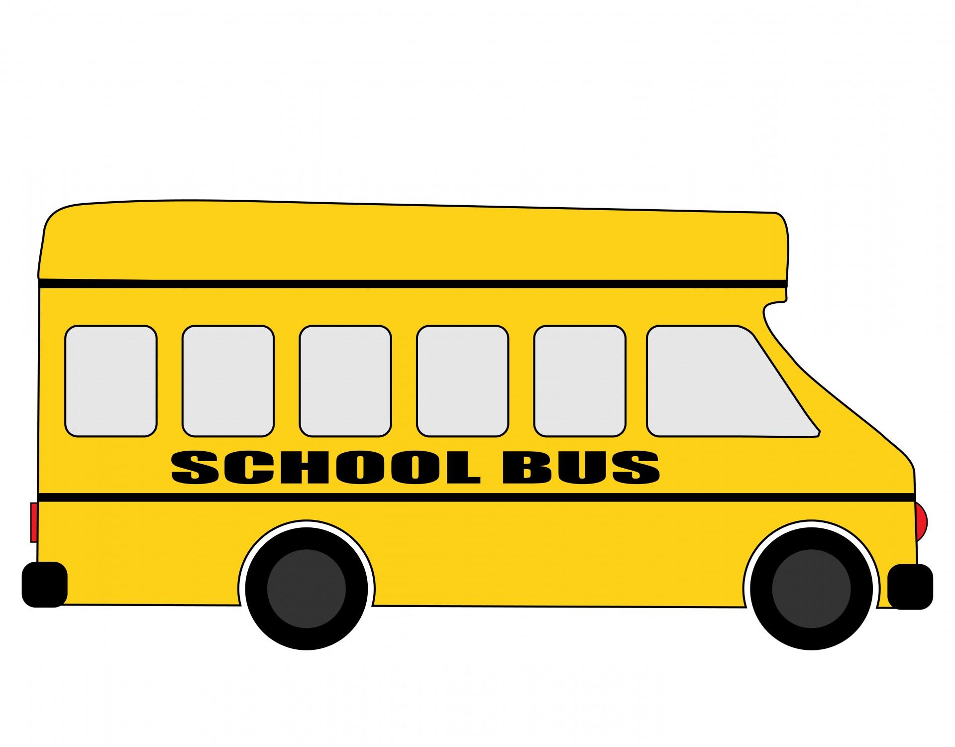 1919x1500 School Bus Clipart Free Stock Photo