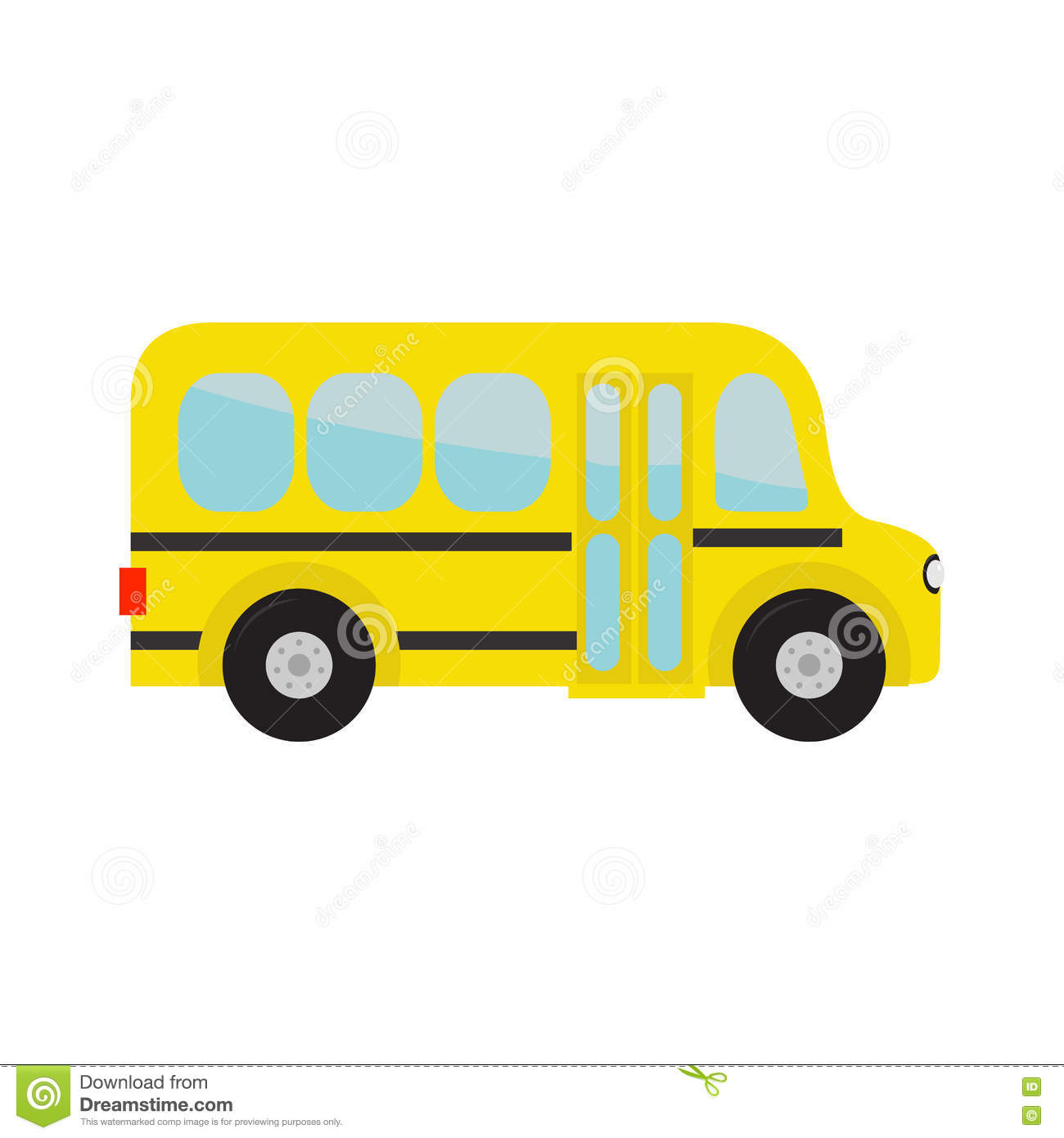 1300x1390 Bus Clipart Background