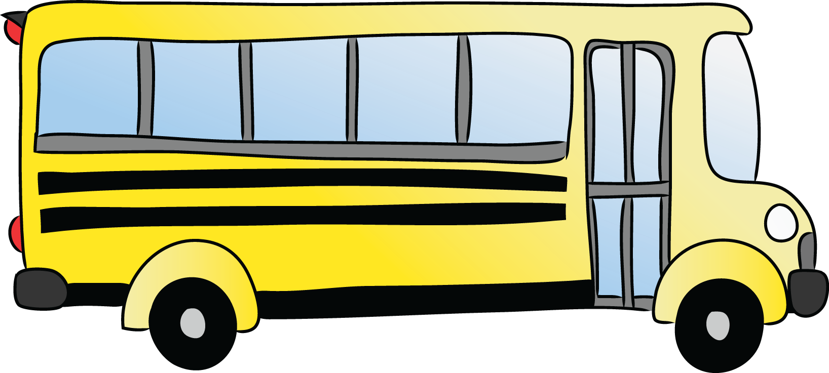 1636x737 School Bus Clipart Kid