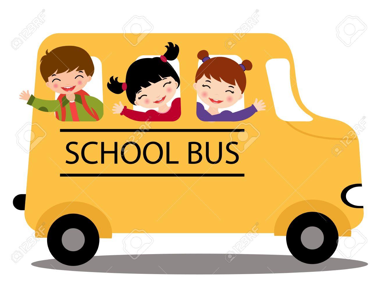 1300x1040 Child Clipart School Bus