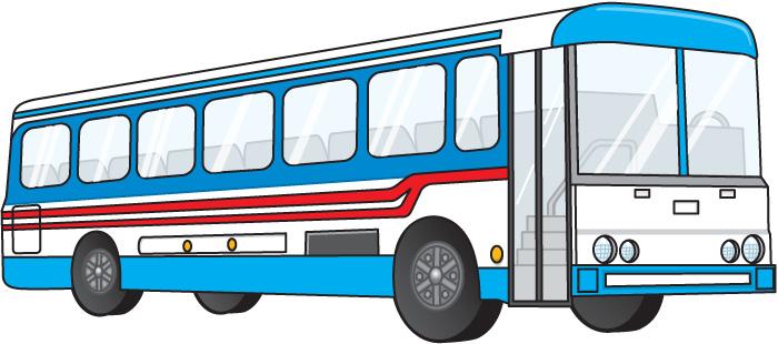 700x310 Free City Bus Clipart Image