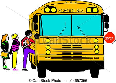 450x324 School Bus Clip Art