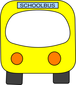 266x297 School Bus Clip Art