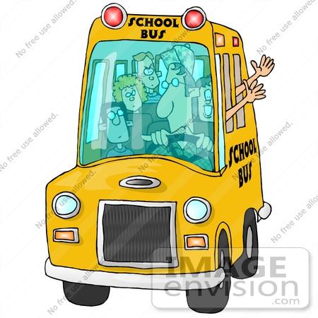 450x450 Full School Bus Clipart