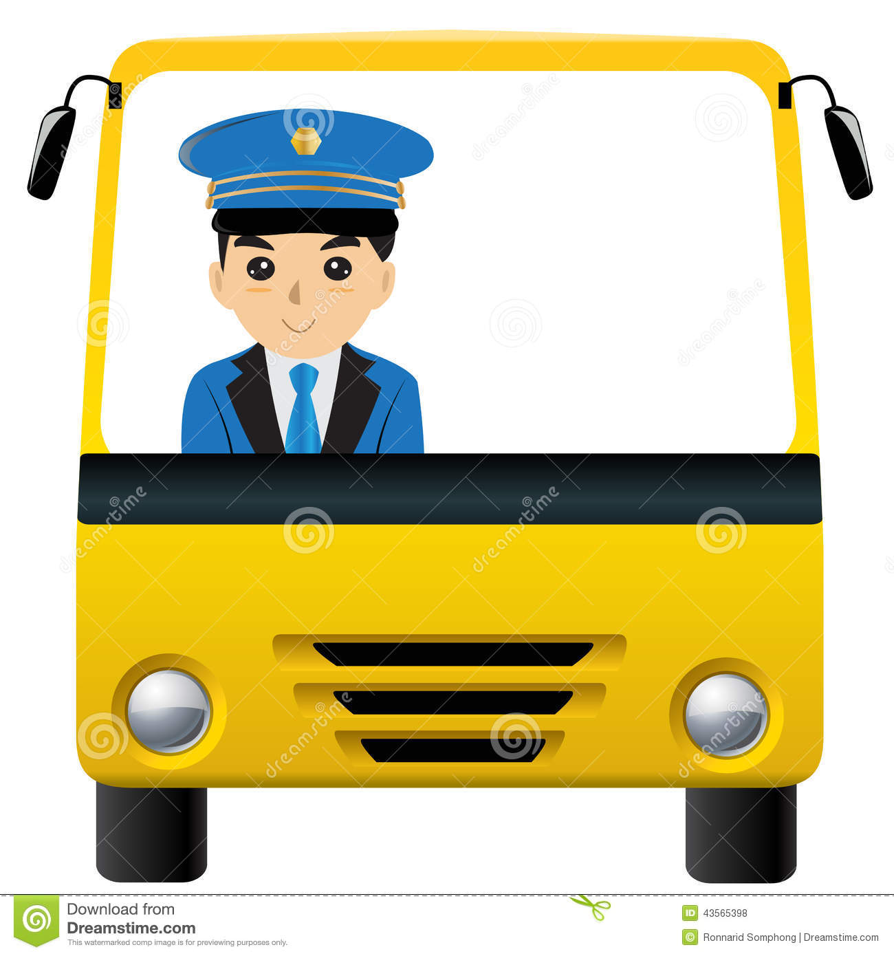 1300x1390 Indian Clipart Bus Driver