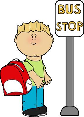 288x400 School Bus Clip Art
