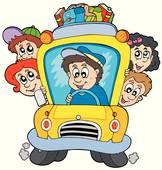 162x170 School Bus Driver Clip Art