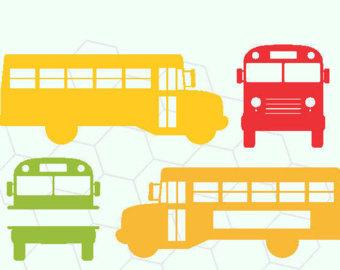 340x270 School Bus Svg Etsy