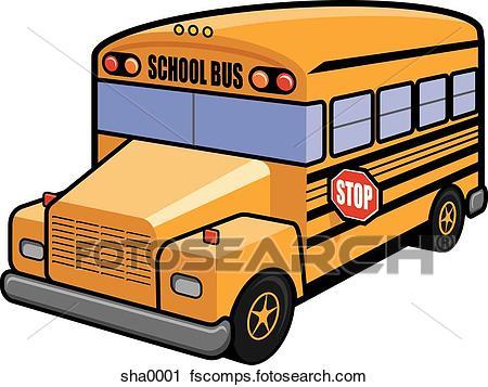 450x357 Clipart Of School Bus Sha0001
