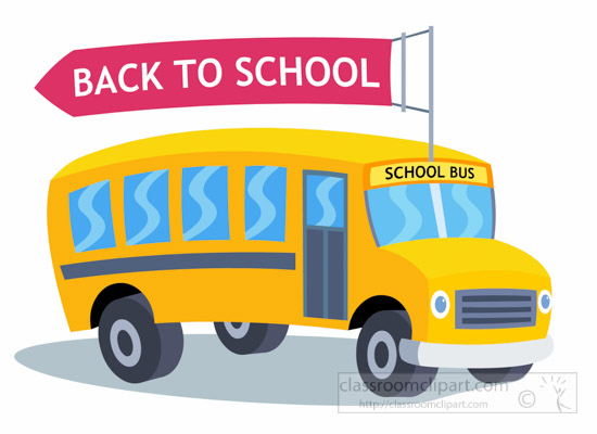 550x400 Graphics For Back To School Bus Graphics