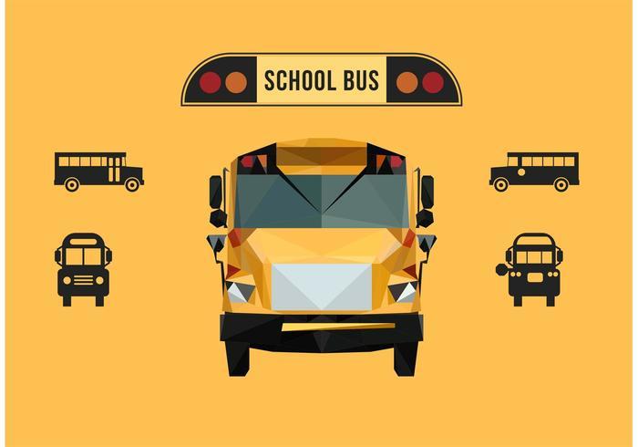 700x490 School Bus Free Vector