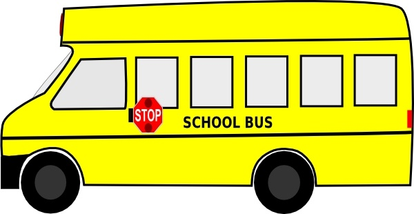 600x310 School Bus Clip Art Free Vector In Open Office Drawing Svg ( Svg