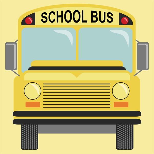 600x600 School Bus Calobee Doodles