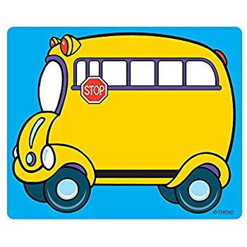 350x350 Teacher Created Resources School Bus Stickers (5651