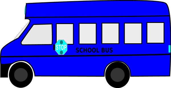 600x311 Colouful Clipart Bus