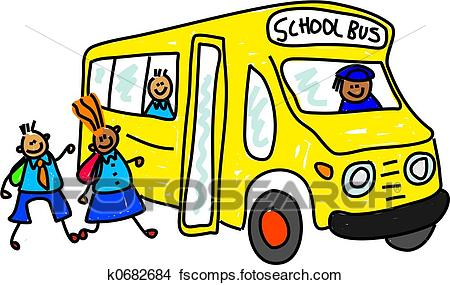 450x285 Drawings Of School Bus K0682684