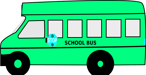 600x311 Pink Clipart School Bus