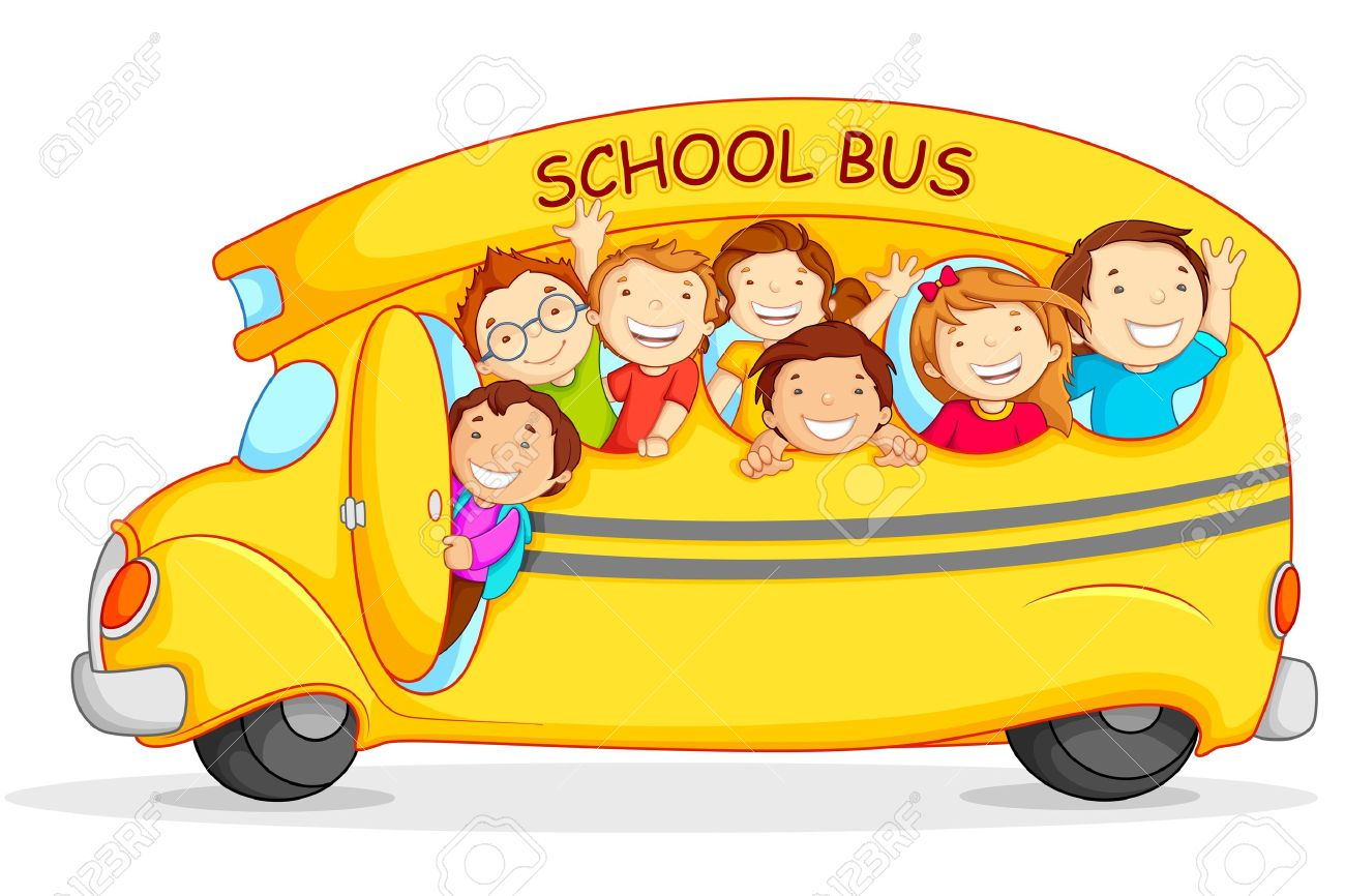 1300x866 Bus Clipart Road Trip