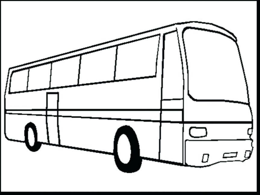 Free Download Best School Bus Outline