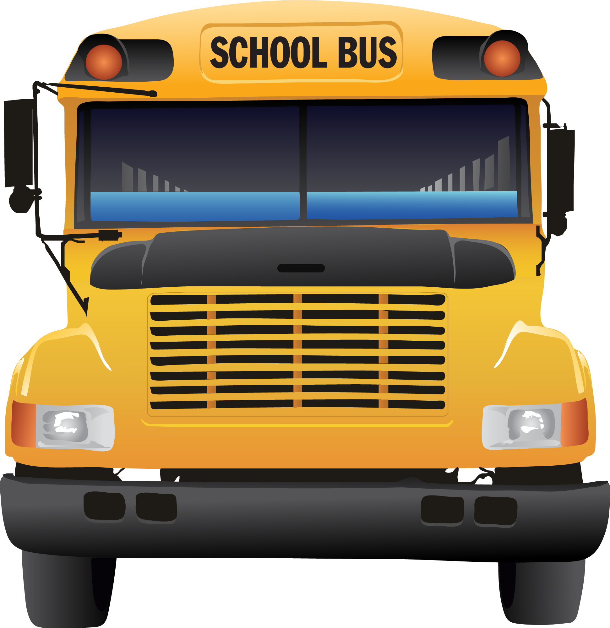 School Bus Outline | Free download on ClipArtMag