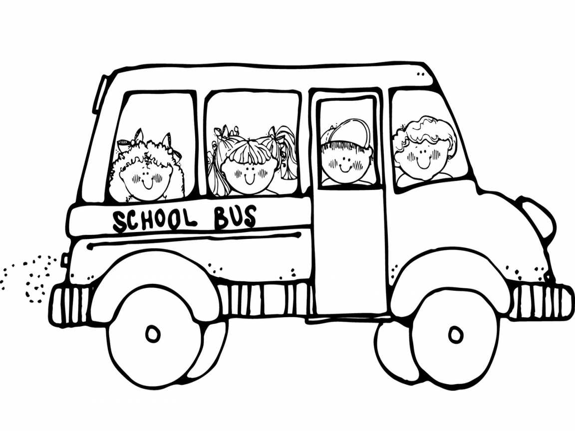 School Bus Outline | Free download best School Bus Outline on ...