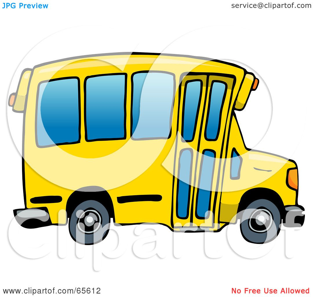 1080x1024 Royalty Free (Rf) Clipart Of Yellow School Bus, Illustrations