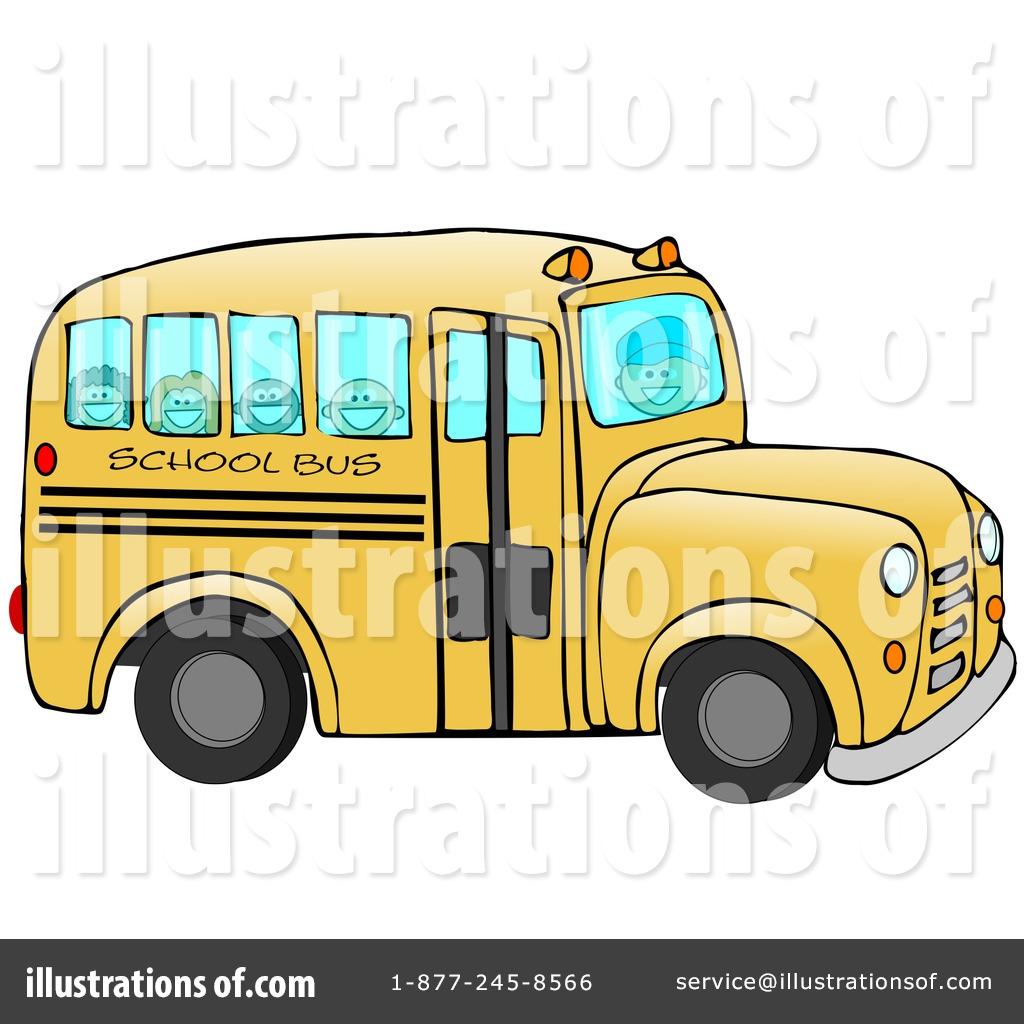 1024x1024 School Bus Clipart