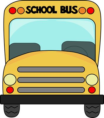 353x400 School Bus Clip Art Black And White Free Clipart 3