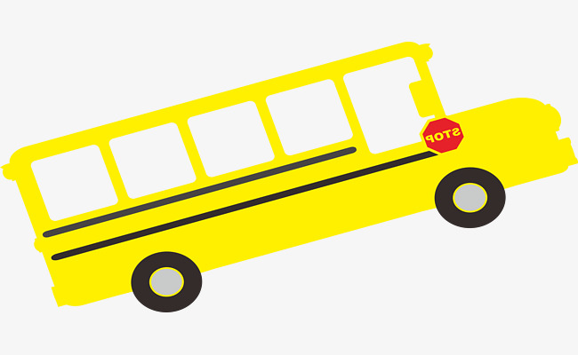 650x400 Yellow School Bus, Business Car, Van, Cartoon Png Image For Free