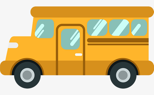 650x400 Cartoon School Bus, Cartoon, School Bus, Bus Png And Vector