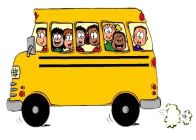 School Bus Side View Clipart