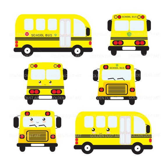570x570 School Bus Clipart School Bus Clip Art Kawaii School Bus
