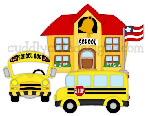 School Bus Stop Clipart