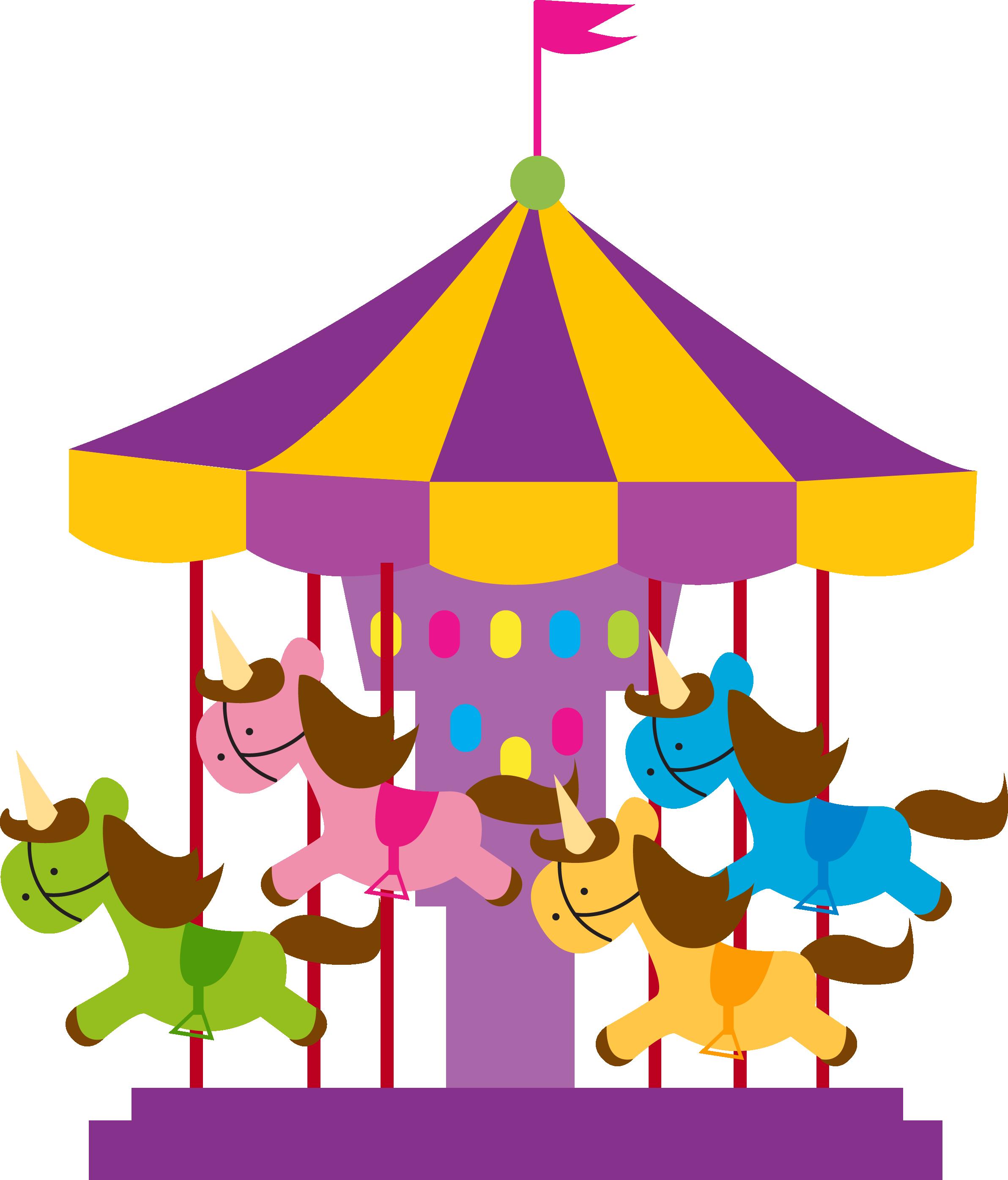 2384x2791 Carousel Clipart School Carnival