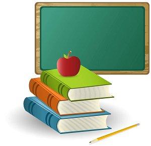 300x290 Blackboard Clipart Education